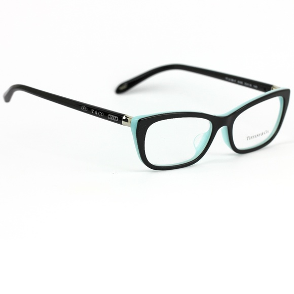 4a2a32aa236dd Tiffany   Co 2136 Eyeglasses Black and Blue Frame.  M 5a906e9e9d20f040abc5deb2